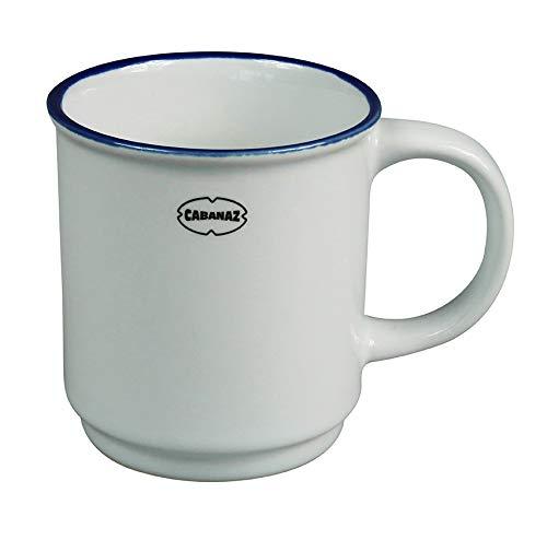 Capventure Cabanaz Mug empilable Blanc