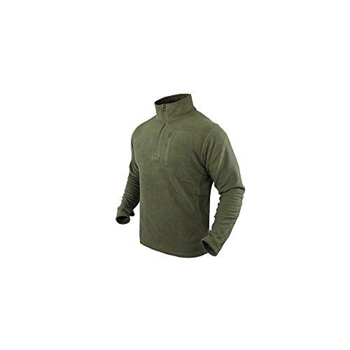 Condor 1/4 Zip Fleece Pullover Oliv Drab Größe M