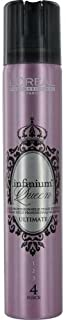 L'Oreal Infinium Lumiere Force 4 Extreme Hold Hair Spray for Unisex, 3.4 Ounce