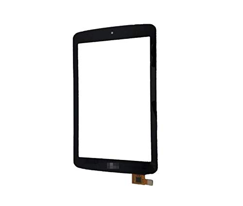 TheCoolCube Touch Panel Digitizer Replacement Screen Glass Compatible with LG G Tablet 7.0 inch Lk430 (Not Include LCD) (Black)