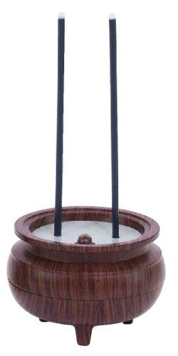 スマイルキッズ電気線香安心のお線香ミニ木目ASE-5201