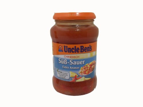 Uncle Ben's Chinesisch Süß-Sauer Sauce mit Ananas 400g Glas