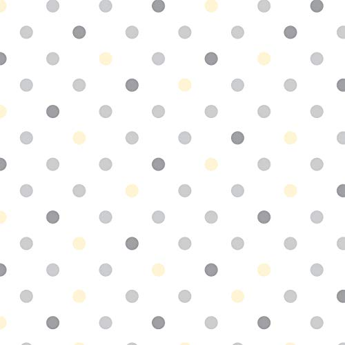 Con-Tact Creative Covering Self-Adhesive Vinyl Drawer and Shelf Liner 18x20 Dottie Gray