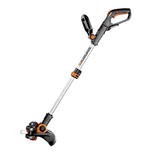 Worx WG163 GT 3.0 20V Cordless Grass Trimmer/Edger with Command Feed, 12in, 2 Batteries and Charger Included (Renewed)