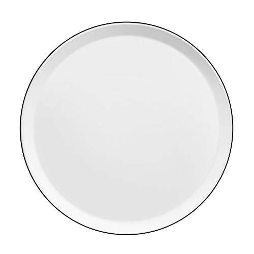 Médard de Noblat Yaka Noir - Coffret 6 assiettes plates