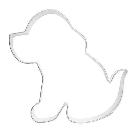 Ausstechform Hund, sitzend, 7cm