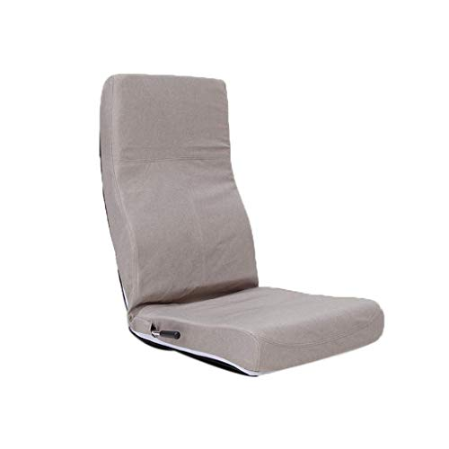 Multifunktionshebel Verstellbarer Boden Sofa Stuhl Wohnzimmer Sessel Tatami Balkon Erker Stuhl (Color : Beige)