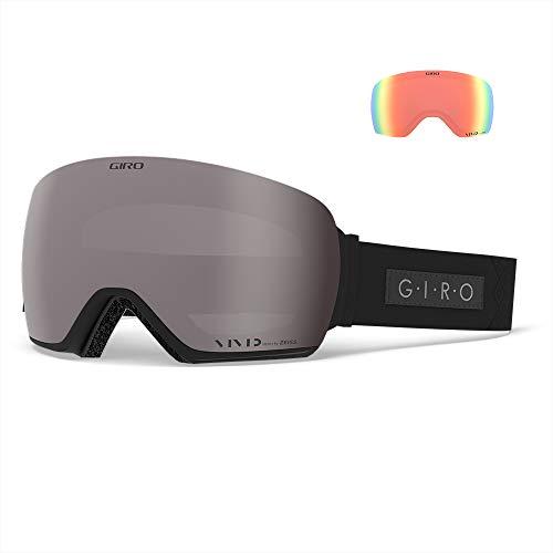 Giro Snow dames LUSI skibril, black velvet vivid onyx/vivid infrared, eenheidsmaat