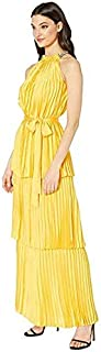Juicy Couture woman maxi dress yellow color