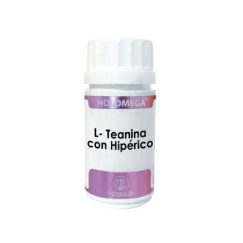HOLOMEGA L-TEANINA+HIPERICO 50 CAPSULAS EQUISALUD