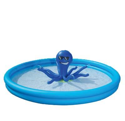 Centro de juegos inflable, remolcador de piscina inflable para niños | Juguete de verano para la piscina al aire libre para la diversión familiar | Juego de piscina y natación para niños 03