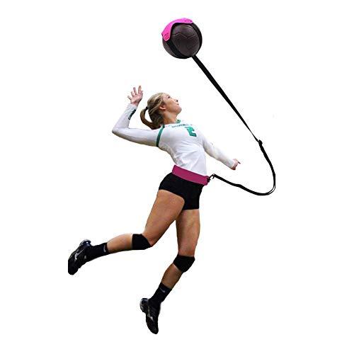 hook.s Volleyball-Trainingsgerät-Fußball-Trainings-Hilfsmittel, Solo-Übungs-Trainer für das Dienen des Einstellungs-Spitzen