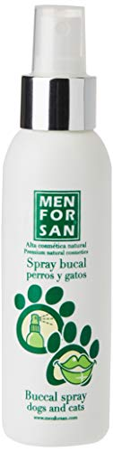 MENFORSAN Spray Bucal Perros Y Gatos contra mal aliento - 125 ml