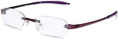 Visualites 5 Oval Orchid 1.25 Reading Glasses