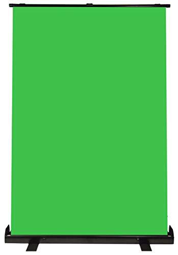 Luxburg 150x200 cm Fondale Verde portatile professionale, sfondo Chromakey per foto, video, giochi dal vivo, Studio virtuale