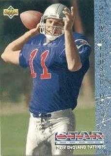 1993 Upper Deck Drew Bledsoe Football Rookie Card IN PROTECTIVE SCREWDOWN CASE #11 Drew Bledsoe Mint