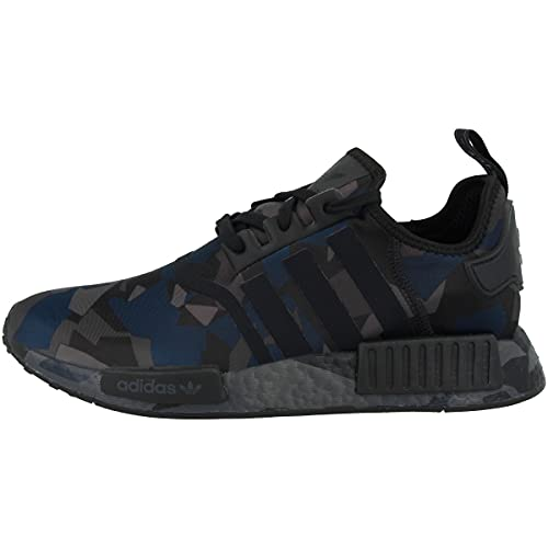 adidas Zapatillas bajas NMD_R1 para hombre, color Negro, talla 39 1/3 EU