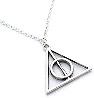 سلسلة المثلث من الاستانلس ستيل - فضي
