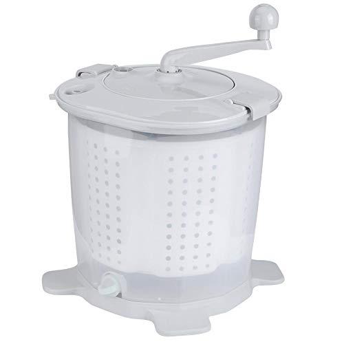 Bicaquu Handbetrieb Mini-Waschmaschine, Langlebige Mini-Waschmaschine, Aufwand sparend für Haushaltsunterwäsche Socken Handtücher Reisen