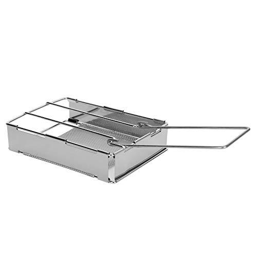 Changor Rack Toast, con 304 Acero Inoxidable de Acero de Malla de tostadora de tostadora de Acero de Acero