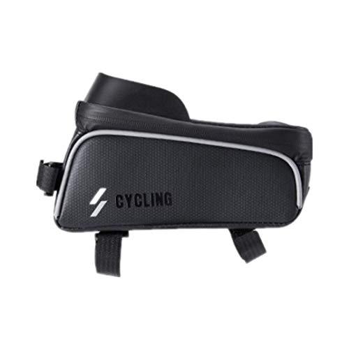 Bolsa de bicicleta, bolsa impermeable para teléfono móvil de Eva con pantalla táctil, equipo de ciclismo, bolsa de bicicleta, bolsa de bicicleta.