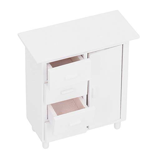 DAUERHAFT Miniaturowe meble Cabine dla chłopców pokój dzienny dla dziewczynek biały