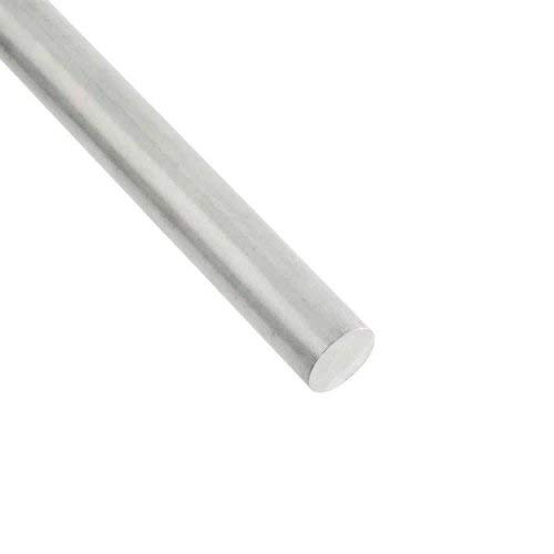 RMP 6061 Aluminum Round Bar, 1 Inch Diameter, 36 Inch Length, Unpolished (Mill) Finish, T6 Temper, 1 PK