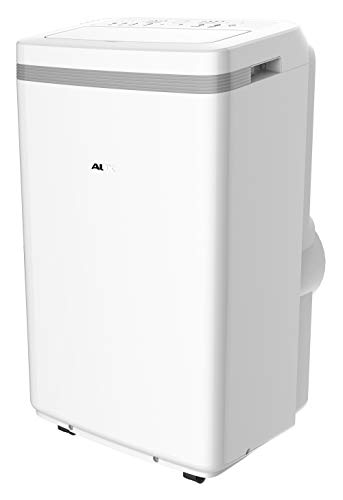 AuxAC MF-13HKC 13,000 BTU Portable Air Conditioner with Heat, Up to 400 Sq. Ft, White