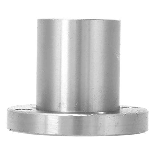 Poca brida redonda Rodamiento de movimiento lineal, Sistema de movimiento lineal de movimiento de brida 32 mm / 1.3in Hecho de acero de rodamiento para maquinaria electrónica LMF25UU / LMF20UU /