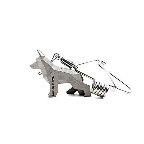 CQ Beau Berger Chien clé de Voiture Couple Couple Porte-clés créatif Taille Simple métal Animal Porte-clés