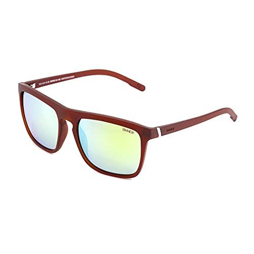 Gafas de sol Thunder 2 Policarbonato Marrón/Amarillo, SISU-844-40-89