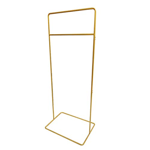 Koyal Wholesale Wedding Sign Stand, Matte Gold Large 5 Feet Tall Welcome Sign Frame, Seating Chart Frame, Guest List Directory Geometric Stand, Wedding Sign Floral Ceremony Decorations, Reception