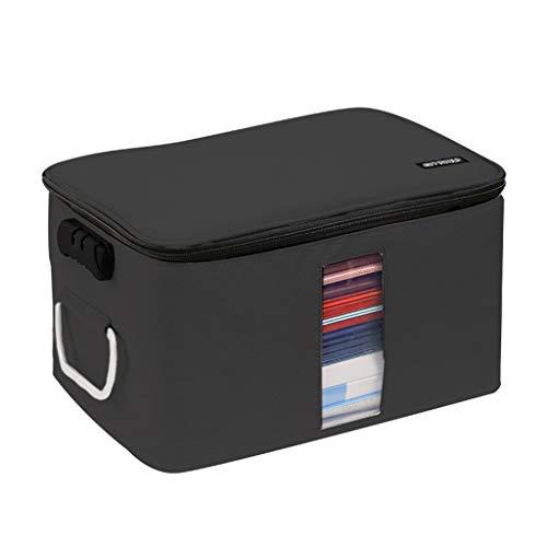 RT-Color Dokumententasche für Tickets, Passwortordner, mehrlagig, großes Fassungsvermögen, A4-Dokumentenhalter mit Reißverschluss für Zuhause, Reisen