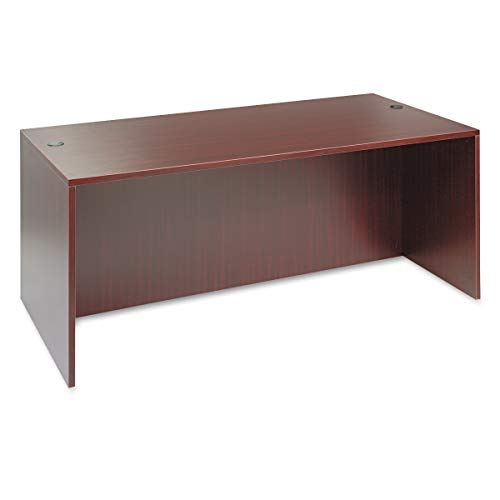 Alera Valencia Series 72 by 36 by 29-1/2-Inch Desk Shell, Mahogany
