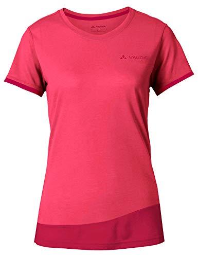 Vaude Damen Women\'s Sveit T-Shirt, bright pink/cranberry, 36/XS