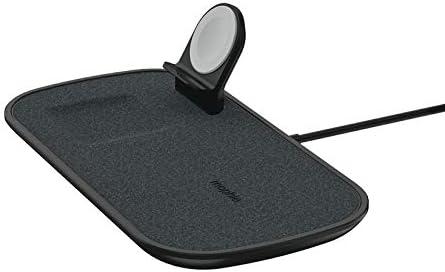 Mophie 3 In 1 Wireless Charge Pad Qi Wireless 7 5w Ladepad Für Apple Iphone Airpods Und Apple Watch Schwarz Elektronik
