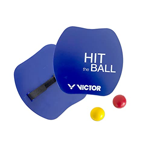 VICTOR Federball Badminton Freizeit Strand Brettschläger HITBALL SET - 742/0/0