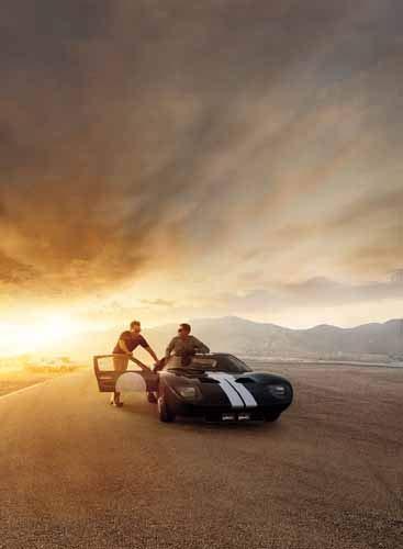 ポスター/スチール写真 A4 パターン20 フォード vs フェラーリ 光沢プリント