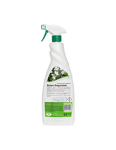 Proeco Químicas Desengrasante Enérgico Ecológico Certificado Ecolabel Green Degreaser Botella Con Pulverizador 1Lt. 1000 g