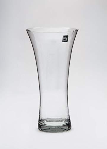 Maison Zoe Mundgeblasene und Handgefertigte Glasvase Patty 30cm - Blumenvase - Deko & Hochzeit
