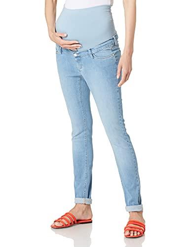 Esprit Maternity Pants Denim OTB Skinny Jeans, Lightwash-950, 38W x 32L para Mujer