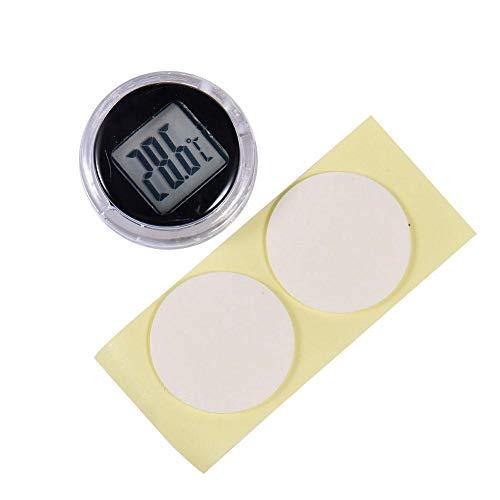 Digitales Thermometer selbstklebend Universal Mini Thermometer geeignet für Küche Bad Auto Motorrad
