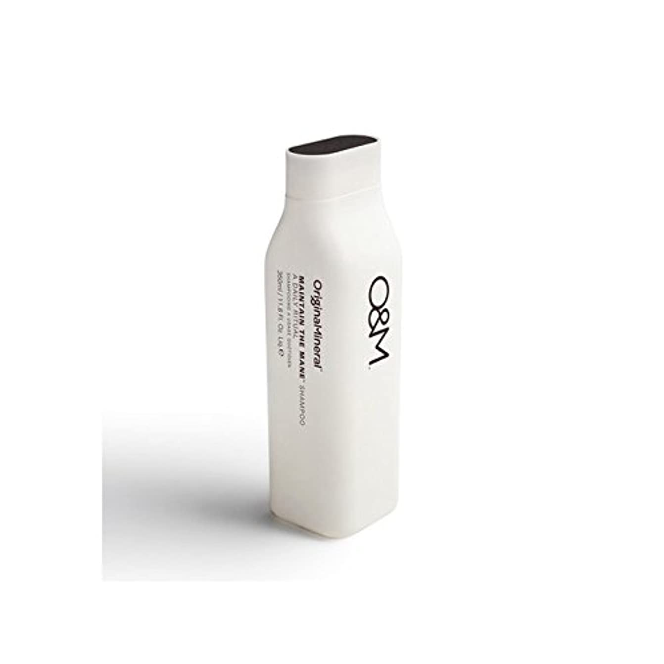 仕様賠償ネーピアOriginal & Mineral Maintain The Mane Shampoo (350ml) (Pack of 6) - オリジナル&ミネラルは、たてがみのシャンプー(350ミリリットル)を維持 x6 [並行輸入品]