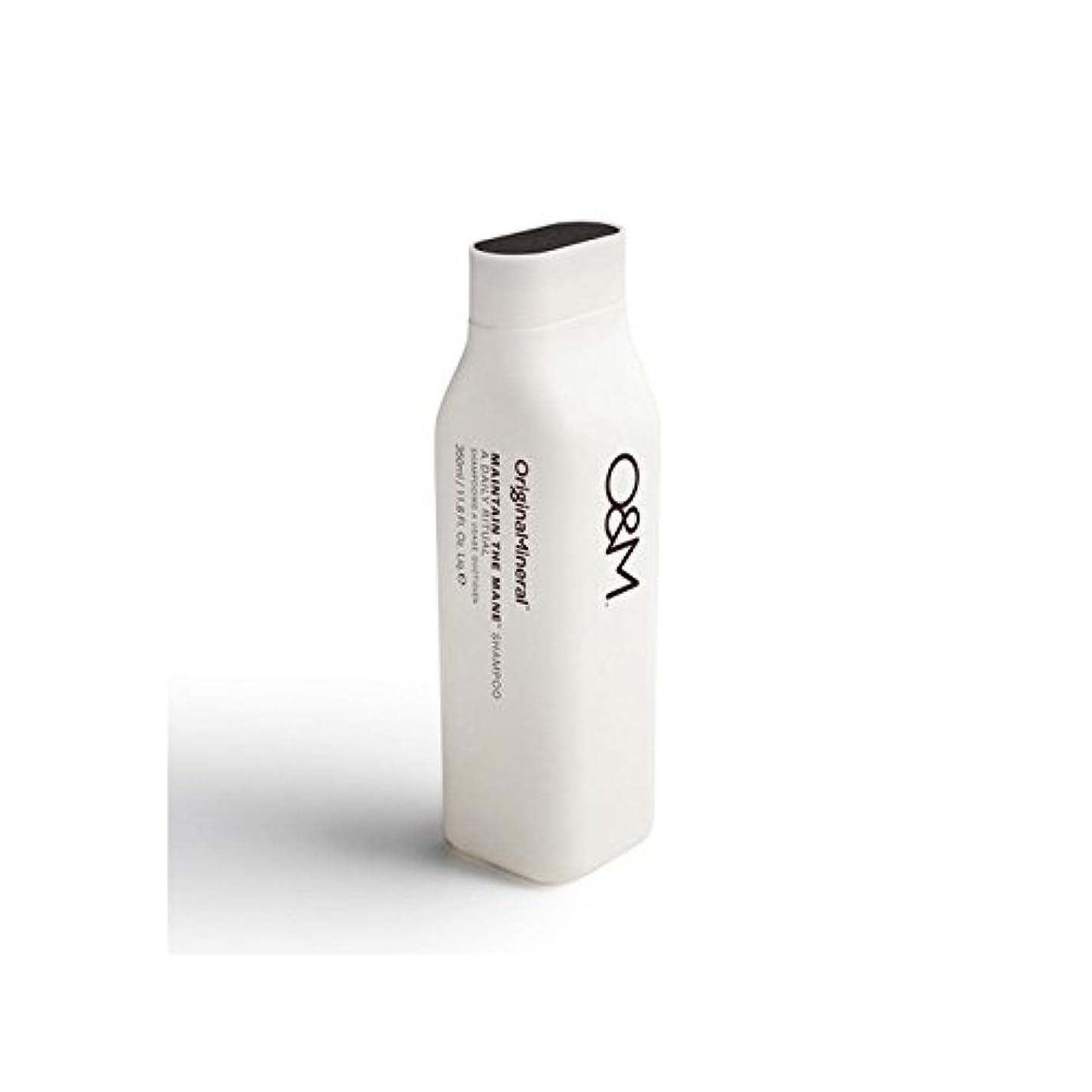進む複雑でない現代のOriginal & Mineral Maintain The Mane Shampoo (350ml) - オリジナル&ミネラルは、たてがみのシャンプー(350ミリリットル)を維持 [並行輸入品]