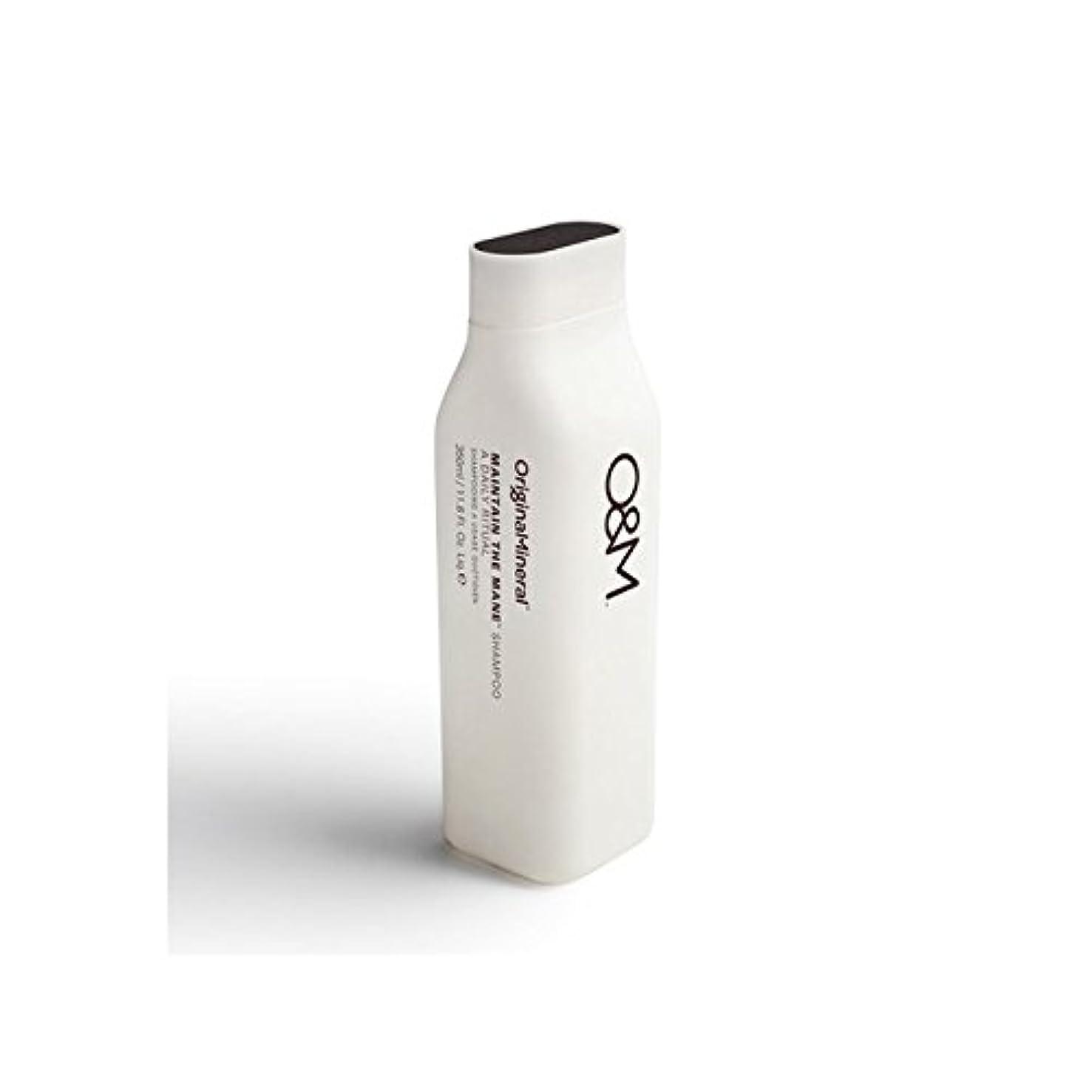 祖先フィールドマーガレットミッチェルOriginal & Mineral Maintain The Mane Shampoo (350ml) - オリジナル&ミネラルは、たてがみのシャンプー(350ミリリットル)を維持 [並行輸入品]