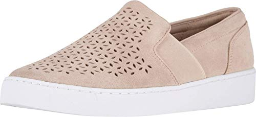 Vionic Women's Splendid Kani Slip-on Walking Shoes - Ladies Athleisure Sneakers with Concealed Orthotic Arch Support Nude 8 Medium US