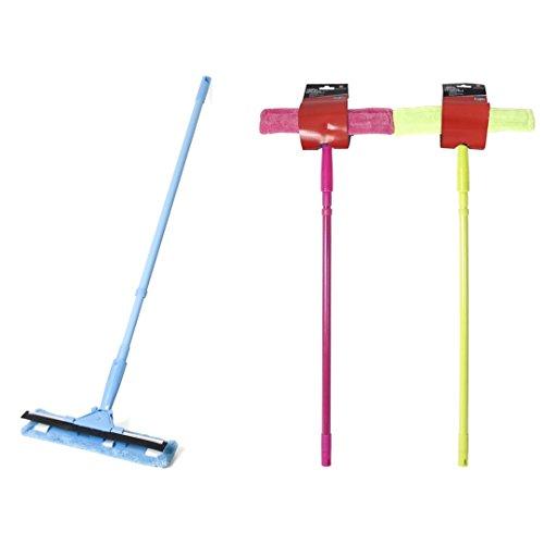 Cmagic® Balai lave vitres télescopique accès difficiles et pare brise lot de 3