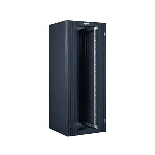 Linkeo 19' Kleiderschrank, Einzeltüre, 24U, 600 x 1000 mm