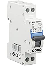 POPP® Interruptor Automático Magnetotérmico industrial CURVA C 1P 2P 3P + 6A 10A 16A 20A 25A 32A 40A 50A 63A