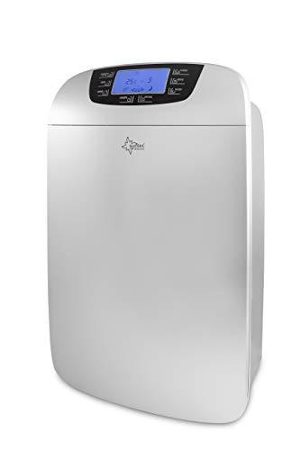 SUNTEC Luftentfeuchter Dryfix 3000 – für Räume bis 200 M³ ( 83 m2 ) | Raumentfeuchter mit 30 l / Tag Entfeuchtungsleistung | Entfeuchter elektrisch inkl. Luftreiniger Funktion + mobile Wäschetrocknung